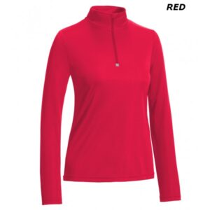 1/4 zip training pullover